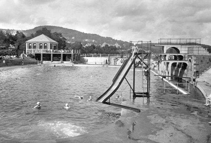 Grange Lido in 1936