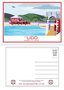 Lido Postcard Pack