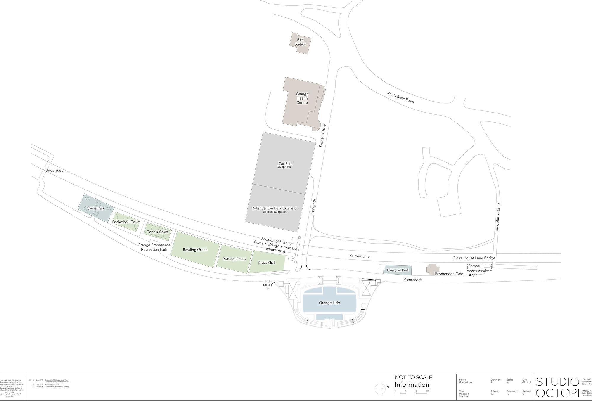Grange Lido - RIBA Stage 2 plans